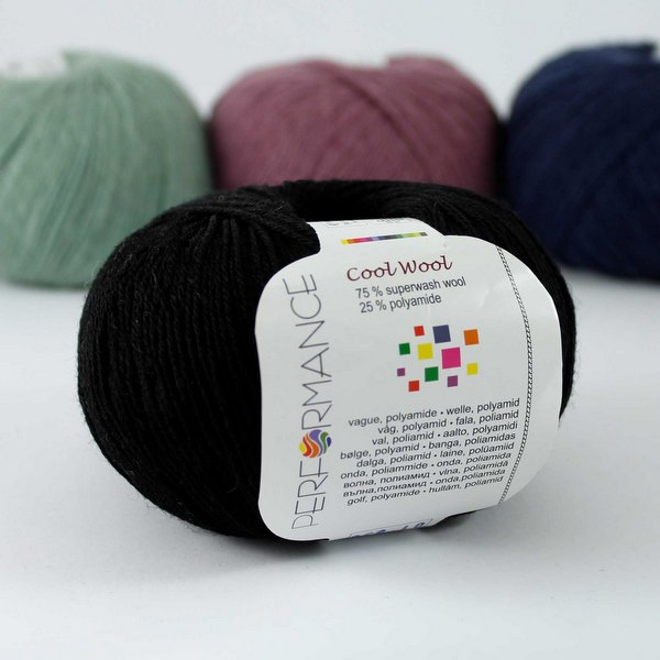 Cool Wool 01 czarny