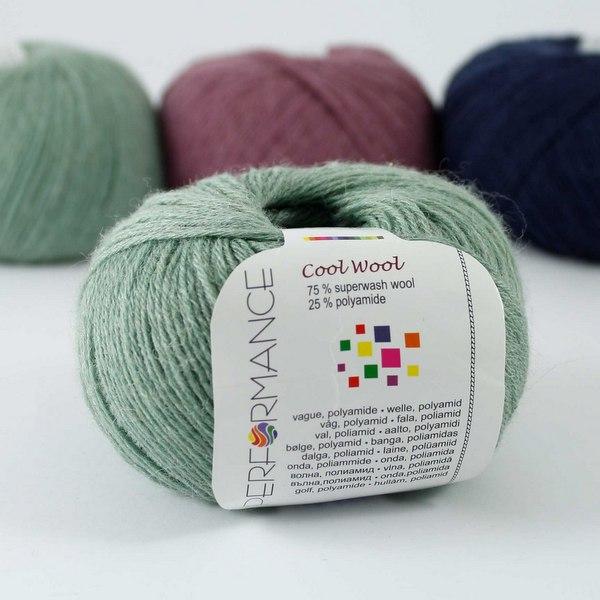 Cool Wool 134 szałwiowy
