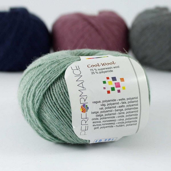 Cool Wool 135 miętowy