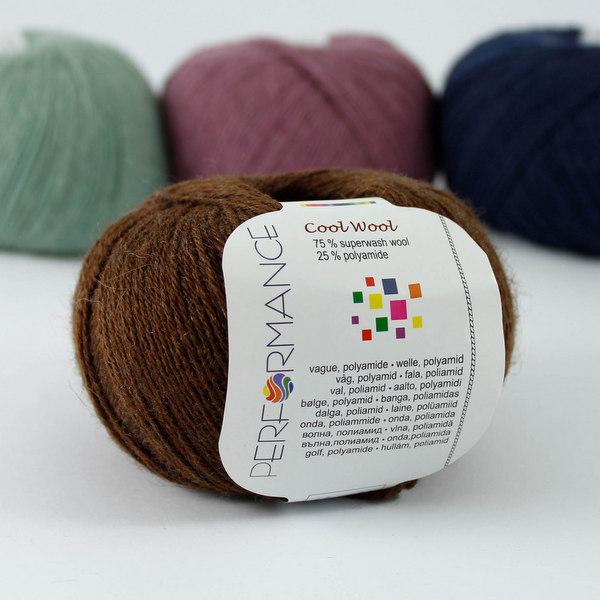 Cool Wool 227 czekoladowy
