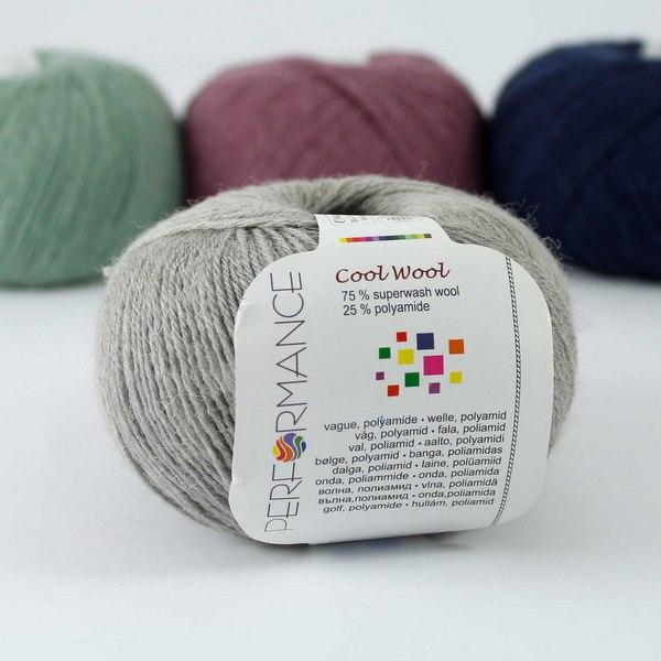 Cool Wool 234 jasnoszary