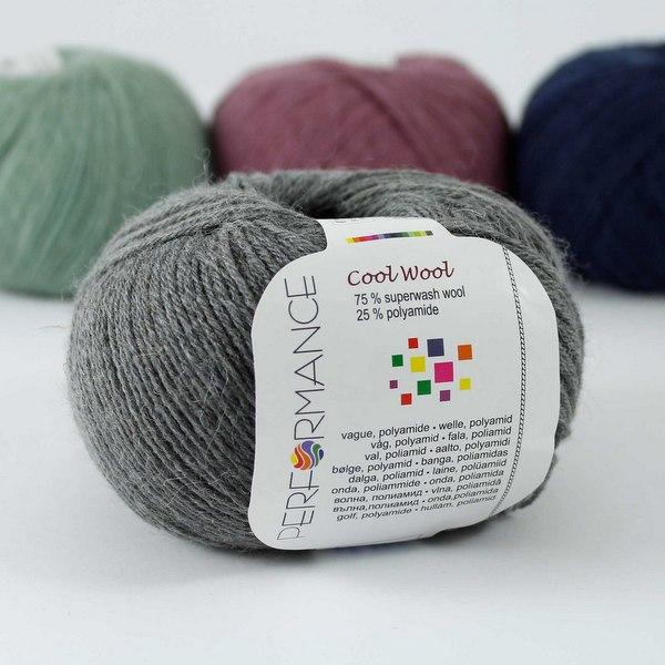 Cool Wool 235 ciemnoszary