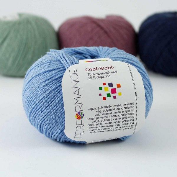 Cool Wool 85 błękitny