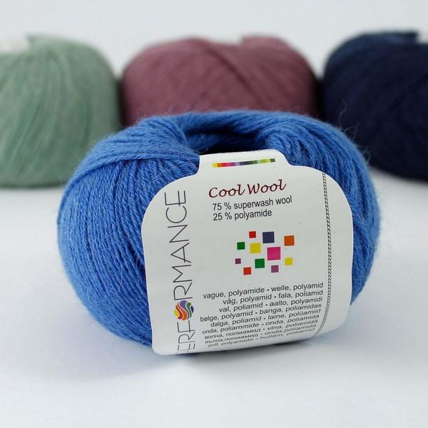 Cool Wool 97 lazurowy