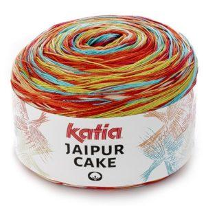 wloczka wielokolorowa JAIPUR CAKE 407 woolloop