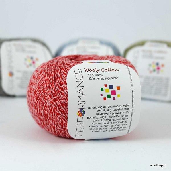 Wooly Cotton 19 malinowy