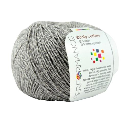 Wooly Cotton 234 jasnoszary
