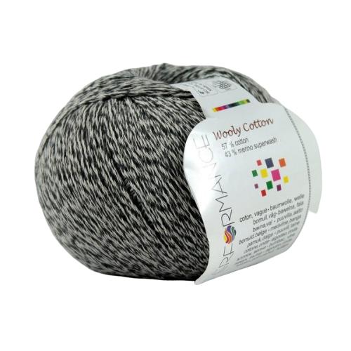 Wooly Cotton 235 popielaty (średni)