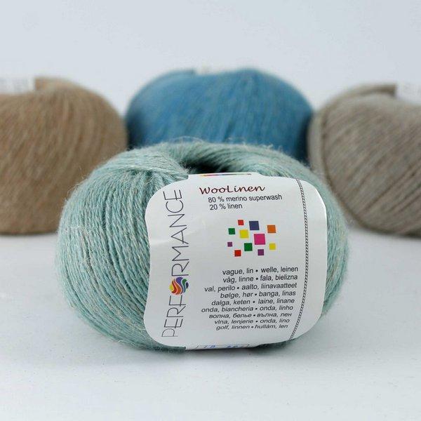 Woolinen 134 szałwiowy