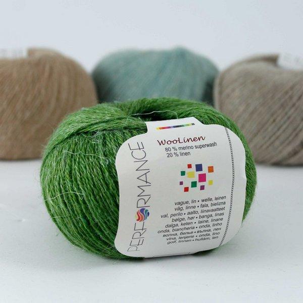 Woolinen 162 zielony