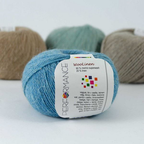 Woolinen 94 niebieski